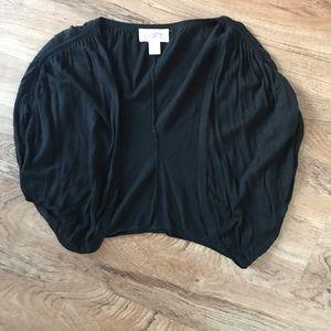 LOFT black shrug. Size medium.